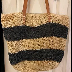 Forever 21 Overnight Straw Bag